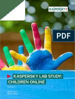 Kaspersky Lab KSN Report Children Online Eng