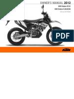 2012 KTM 690 Enduro