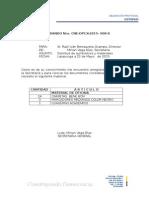 Acta Entrega Recepción Materiales Dañados