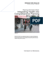 Integrating Health Into Comprehensive Planning - DfH USA - 2007
