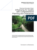 Influencing Air Quality With Comprehensive Planning and Ordinances - DfH USA - 2007