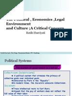 The Political Economics Legal Environment 3