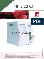 Orphee Mythic 22-CT Hematology Analyzer - User Manual