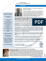 Editorial Mayo-Agosto 2015