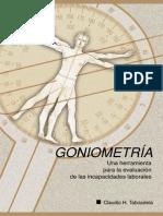 Goniometria - C. Taboadela.