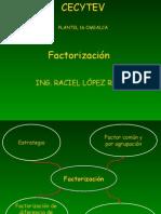 FACTORIZACIÓN 1