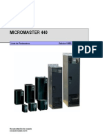 Lista de parametros MICROMASTER 440