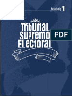 Tribunal Supremo Electoral - TSE Guatemala, Fascículo 1
