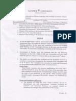 Staff Profile Uaided Order