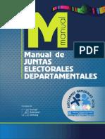 Manual de Juntas Electorales Departamentales, 2015 - Tribunal Supremo Electoral de Guatemala