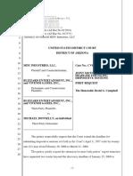 MDY Industries, LLC v. Blizzard Entertainment, Inc. et al - Document No. 33