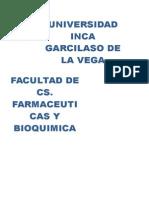Informe Lab Analitica n5(Reacciones Quimica II)