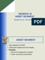 Script Presentations - Session 10 - Asset Segment Script