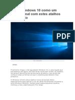 Teclas de Atalho Windows 10