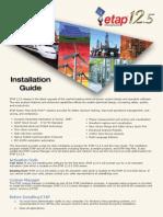 ETAP12.5 Install Guide Release