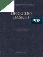 Derecho Básico - Nociones Fundamentales de Derecho Civil - Jaime de Solminihac Iturria