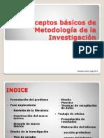 Curso Metodologia de La Investigacion Parte I