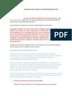 Diagnostico de Tratamientos Para Mejorar La Productividad de Los Pozos (Avances) 29-07-15