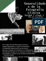 Generalidades de la fotografía clinica1