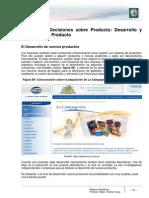 Lectura 10 - Decisiones Sobre El Producto. Desarrollo y Evolución Del Producto Corregido