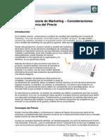 Lectura 11 - Mezcla de Marketing. Consideraciones Generales Acerca Del Precio