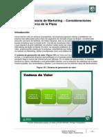Lectura 12 - Mezcla de Marketing. Consideraciones Generales Acerca de La Plaza