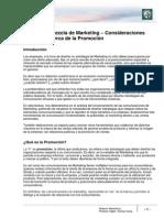 Lectura 13 - Mezcla de Marketing. Consideraciones Generales Acerca de La Promoción