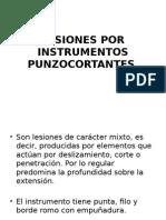 Lesiones Por Instrumentos Punzocortantes