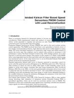 Extended Kalman Filter Based Speed