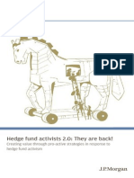 J.P. Morgan  Hedgefund Activism
