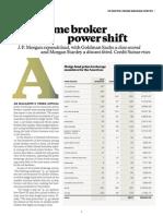 Absolute Return - Prime Broker Rankings