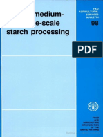 Small, Medium and Large-scale Starch Processing
