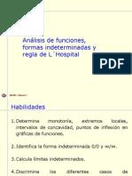 06 2 Analisis de Funciones Regla de L Hospital