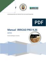 Manual Irricad Pro v 9 Goteo 27-01-10
