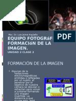 Equipo fotográfico y formación de la imagen