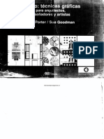 Técnicas gráficas para arquitectos y diseñadores [Porter-Goodman] [Cp©]