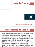 Amplificadores Clase B y AB 19616