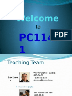 PC1141 L01 Introduction