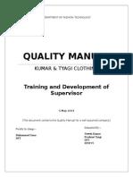 Quality Manual Madura