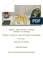 Saharan – North-African – Amazigh Children's Toy Catalogs