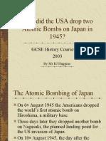bombimg of Hiroshima and Nagasaki