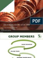 financial ratio analysis..