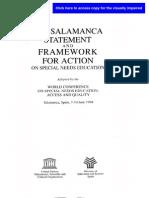 1. the Salamanca
