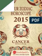 CANCER - Your Zodiac Horoscope 2015