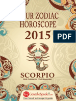 SCORPIO - Your Zodiac Horoscope 2015