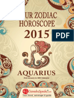 AQUARIUS - Your Zodiac Horoscope 2015