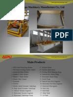 Solids control equipments