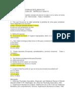 Cuestionario Mauricio Trastornos de Eliminacion
