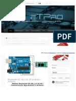 Http Hetpro Store Com TUTORIALES Bluetooth Hc 06 App Arduino