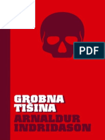Arnaldur Indridason - Grobna Tisina